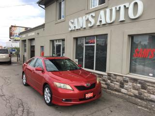 Used 2007 Toyota Camry SE for sale in Hamilton, ON