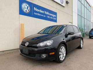Used 2012 Volkswagen Golf HIGHLINE AUTO - LEATHER / SUNROOF for sale in Edmonton, AB