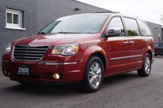 Used 2008 Chrysler Town & Country Limited *Leather SunRoof Navigation BackUp Camera* for sale in North York, ON