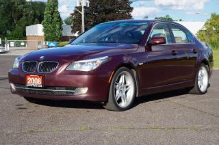 Used 2008 BMW 5 Series 535i *Rare Rare Rare Color * Mint Condition!! for sale in North York, ON