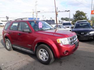Used 2008 Ford Escape XLS for sale in Brampton, ON