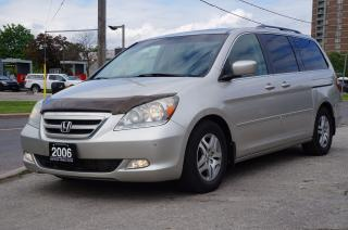 Used 2006 Honda Odyssey Touring Leather/SunRoof/Navigation/DVD~Mint! for sale in North York, ON