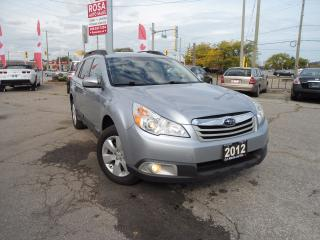 Used 2012 Subaru Outback AUTO 5 DR LOW KM NO RUST BLUETOOTH PW PL PM A/C for sale in Oakville, ON