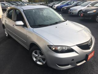 Used 2006 Mazda MAZDA3 GS/5SPEED/LOADED/ALLOYS/DRIVES LIKE NEW for sale in Scarborough, ON