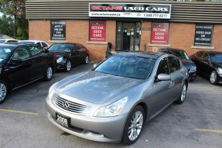 Used 2008 Infiniti G35X SPORT for sale in Scarborough, ON