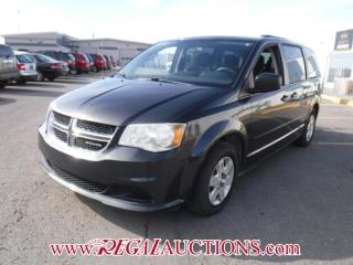 Used 2012 Dodge GRAND CARAVAN SE WAGON 3.6L for sale in Calgary, AB