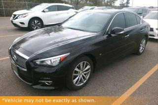 Used 2014 Infiniti Q50 AWD, Deluxe Touring & Technolo for sale in Winnipeg, MB