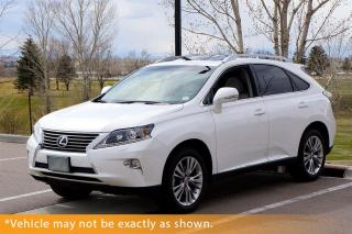Used 2013 Lexus RX 350 Navi, Backup Camera, Heated/Co for sale in Winnipeg, MB
