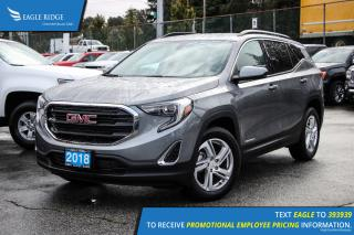 New 2018 GMC Terrain SLE Bluetooth and Backup Camera for sale in Port Coquitlam, BC