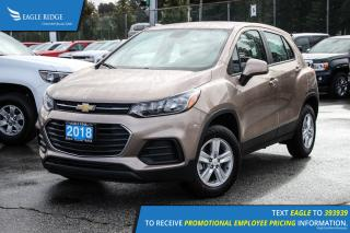 New 2018 Chevrolet Trax LS Bluetooth and Backup Camera for sale in Port Coquitlam, BC