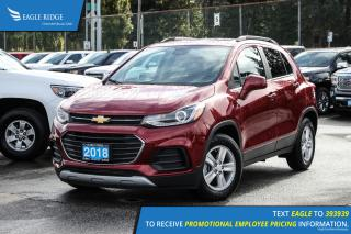 New 2018 Chevrolet Trax LT Backup Camera and Sunroof for sale in Port Coquitlam, BC