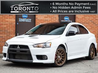 Used 2012 Mitsubishi Lancer Evolution MR+ Navigation+710watt Rockford Fosgate for sale in North York, ON