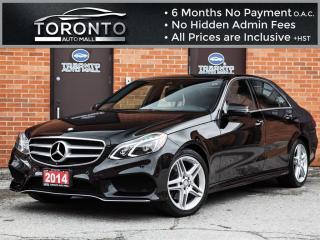 Used 2014 Mercedes-Benz E-Class E350 4MATIC+AMG+Navi+Pano+Led+Blind Spot+360 Cam for sale in North York, ON