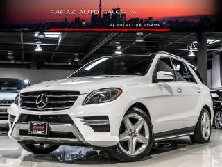 Used 2014 Mercedes-Benz ML 350 AMG|NAVI|BLINDSPOT|360 CAM|BLUETEC for sale in North York, ON