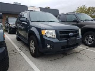 Used 2008 Ford Escape Limited 3.0L LEATHER, SUNROOF, AS IS !!! for sale in Concord, ON