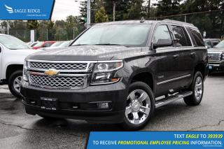 New 2017 Chevrolet Tahoe LT Satellite Radio and Backup Camera for sale in Port Coquitlam, BC