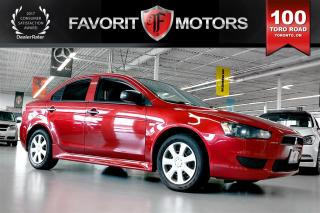 Used 2015 Mitsubishi Lancer DE | MANUAL | PWR WINDOWS | BLUETOOTH* for sale in North York, ON
