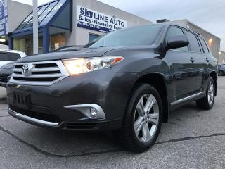 Used 2013 Toyota Highlander 7 PASSGENGER|BLUETOOTH|SUNROOF|CERTIFIED for sale in Concord, ON