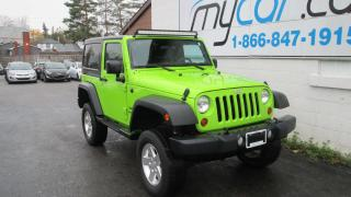 Used 2012 Jeep Wrangler SPORT for sale in Richmond, ON