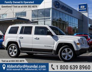 Used 2014 Jeep Patriot Limited BC OWNED & ONE OWNER for sale in Abbotsford, BC