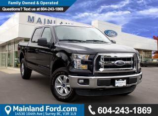 Used 2016 Ford F-150 XLT NO ACCIDENTS, LOW KMS for sale in Surrey, BC