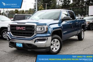 New 2018 GMC Sierra 1500 Base Bluetooth and Backup Camera for sale in Port Coquitlam, BC