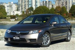 Used 2010 Honda Civic Sedan EX-L at Leather, Sunroof - Low KM! for sale in Vancouver, BC