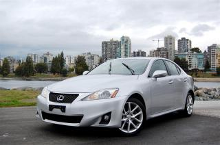 Used 2011 Lexus IS 250 AWD 6A for sale in Vancouver, BC
