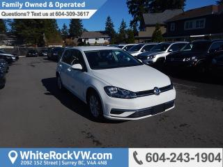 New 2018 Volkswagen Golf 1.8 TSI Comfortline Heated Front Seats, Rear View Camera & Radio Data System for sale in Surrey, BC