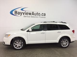Used 2017 Dodge Journey GT- AWD|REM STRT|PUSH BTN STRT|HTD LTHR|ALPINE! for sale in Belleville, ON