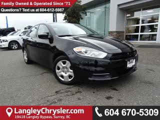 Used 2016 Dodge Dart SE *ACCIDENT FREE*ONE OWNER*LOCAL BC CAR* for sale in Surrey, BC