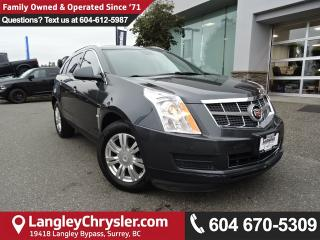 Used 2010 Cadillac SRX Luxury and Performance Collection *ACCIDENT FREE * DEALER INSPECTED * CERTIFIED * for sale in Surrey, BC