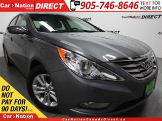 Used 2012 Hyundai Sonata | SUNROOF| POWER SEAT| LOW KM'S| for sale in Burlington, ON