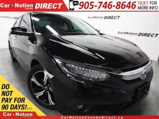 Used 2016 Honda Civic Touring| LEATHER| SUNROOF| NAVI| for sale in Burlington, ON