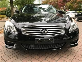 Used 2008 Infiniti G37 S TYPE,NAVIGATION,BACK UP CAMERA,NO ACCIDENT. for sale in Vancouver, BC