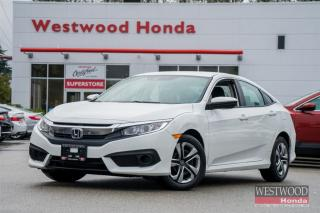 Used 2016 Honda Civic LX w/Honda Sensing - Warranty Unitl 2023 for sale in Port Moody, BC