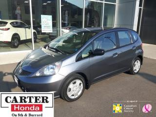 Used 2014 Honda Fit DX-A + NO ACCIDENTS + A/C + CERTIFIED! for sale in Vancouver, BC