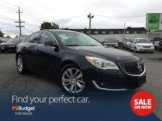 Used 2016 Buick Regal Intuitive All Wheel Drive, Navigation, Bluetooth for sale in Vancouver, BC