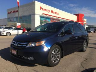 Used 2015 Honda Odyssey Touring for sale in Brampton, ON