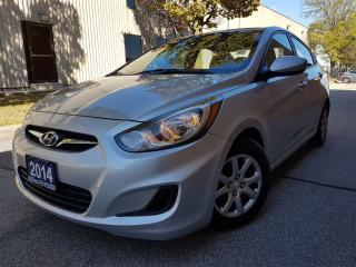 Used 2014 Hyundai Accent GL-2.99% avaialble-new tires/new brakes for sale in Mississauga, ON