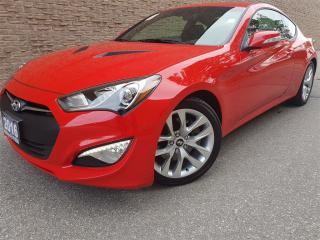 Used 2016 Hyundai Genesis Coupe 3.8 Premium-Navigation-Rear camera for sale in Mississauga, ON