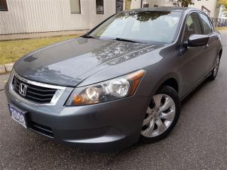 Used 2008 Honda Accord EX-L w/Navi-NEW tires-Certified for sale in Mississauga, ON
