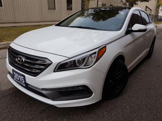 Used 2015 Hyundai Sonata Sport-Navigation-Panorama sunroof for sale in Mississauga, ON