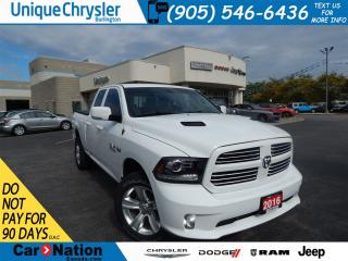 Used 2016 Dodge Ram 1500 SPORT|QUAD CAB|UPGRADED EXHAUST|NAV|A MUST SEE!!! for sale in Burlington, ON