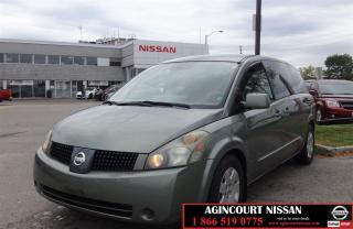 Used 2006 Nissan Quest 3.5 S |AS-IS SUPER SAVER| for sale in Scarborough, ON