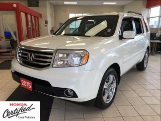 Used 2015 Honda Pilot EX-L, with DVD player, mint for sale in Scarborough, ON