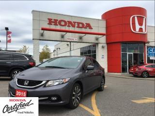 Used 2015 Honda Civic Sedan Touring, SOLD for sale in Scarborough, ON