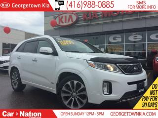 Used 2015 Kia Sorento SX | NAVI | PANO ROOF | LEATHER | AWD | V6 | for sale in Georgetown, ON