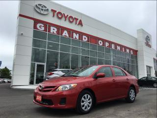Used 2013 Toyota Corolla CE (A4) for sale in Pickering, ON