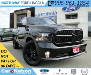 Used 2016 Dodge Ram 1500 ST | LOW KM | REAR CAMERA | REGULAR CAB | for sale in Brantford, ON
